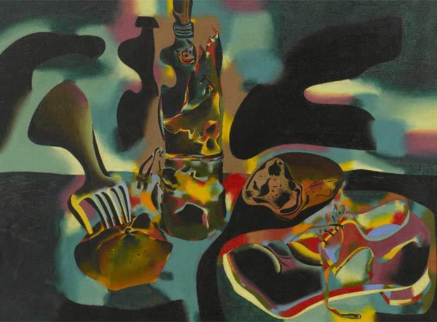 Resultado de imagen de blogspot, Joan Miró, Bodegón del zapato viejo (1937)