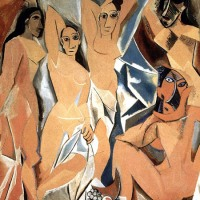 Las señoritas de Avignon (Picasso, 1905)