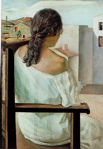 Muchacha en la ventana (S. Dali, 1925) | blocdejavier