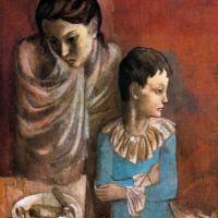 "Picasso, 1905: ""Madre e hijo saltimbanquis"" y ""Maternidad"""