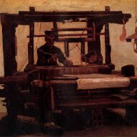 Tejedor al telar (Van Gogh, 1884)