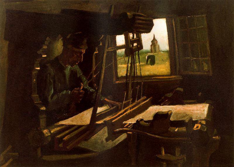 Tejedor Al Telar Van Gogh 1884 Blocdejavier