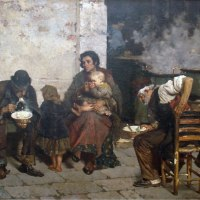 La sopa de los pobres (Giudici Reinaldo, 1884)
