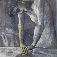 Mujer planchando (Picasso, 1904)