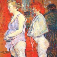 La inspección médica (Toulouse-Lautrec, 1894)