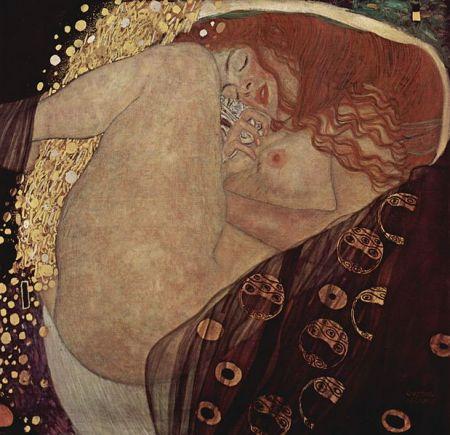 Klimt - Danae (1907)