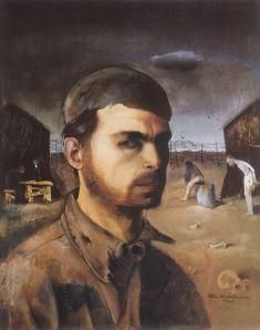 Nussbaum - Autorretrato en el campo de concentración (1940)