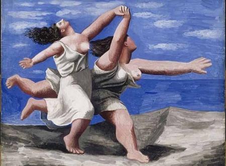 Picasso - dos Mujeres corriendo en la playa (1922)
