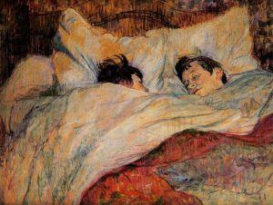 Toulouse-Lautrec - en la cama (1893)