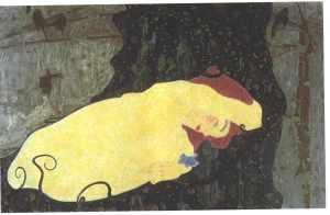 Egon Schiele - Danae (1909)
