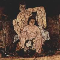 La familia (Egon Schiele, 1918)