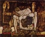 Egon Schiele - madre ciega (1914)
