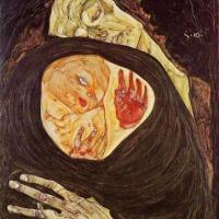 Madre muerta (Egon Schiele, 1910)