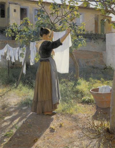 Elin Danielson-Gambogi - Día soleado (1900)