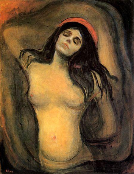 Munch - Madonna (1894)