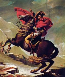 David - Napoleón cruzando los Alpes (1805)