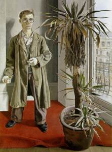 Lucien Freud - Interior in Paddington (1951)