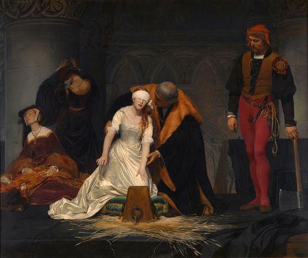 Paul Delaroche - La ejecución de Lady Jane Grey (1833)