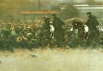 Ramón Casas  - la carga (1899) detalle 02