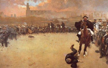 Ramón Casas  - la carga (1899)