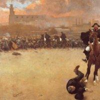 la carga (Ramón Casas, 1899)