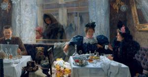 El restaurante (Díaz Olano, 1895)