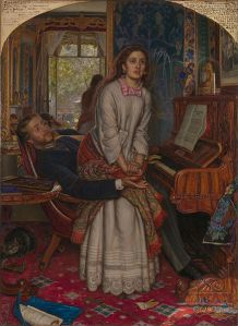 William Holman Hunt - el despertar de la conciencia (1853)