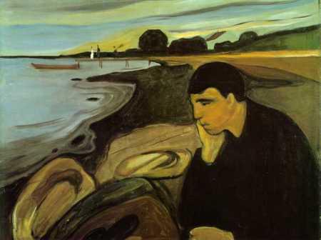 Munch - Melancolia (1894)