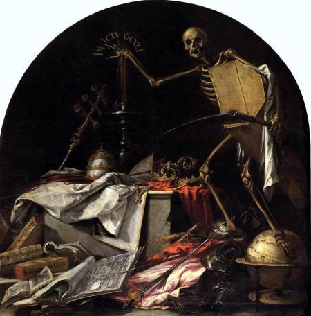 Valdes Leal - in ictu oculi en un abrir y cerrar de ojos (1672)