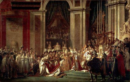 David - la consagración de Napoleón (1808)