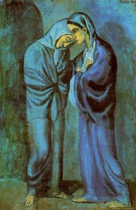 Picasso - las dos hermanas (1902) (01)