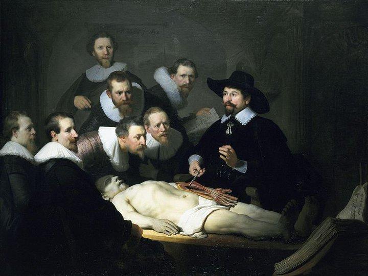 La lección de anatomía (Rembrandt, 1632) | blocdejavier