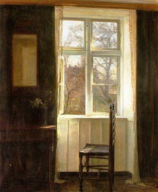 carl holsoe - ventana (1890)