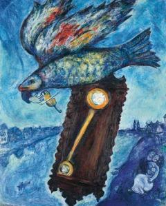 Chagall - El tiempo es un río sin orillas (1939)