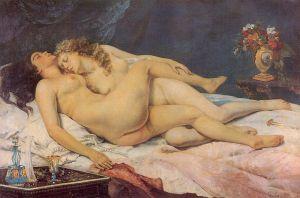 Coubert - el sueño (1866)