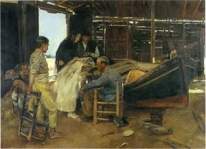 Sorolla - el día feliz (1892)