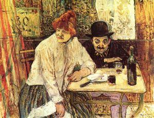 Toulouse-Lautrec - a la mie (1891)