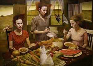 andrea kowch - the feast