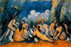 Cezanne - las grandes bañistas (1900) (01)