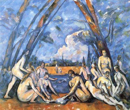 Cezanne - las grandes bañistas (1906)