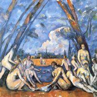 Las grandes bañistas (Cézanne, 1906)