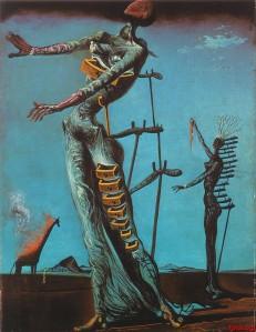 Dali - jirafa ardiendo (1937)