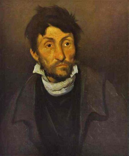 Gericault - el cleptómano (1823) el loco asesino