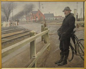 Laurits Andersen Ring - Waiting for the Train