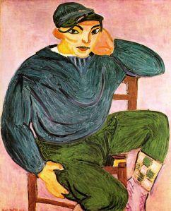 Matisse - el joven marinero (1906)