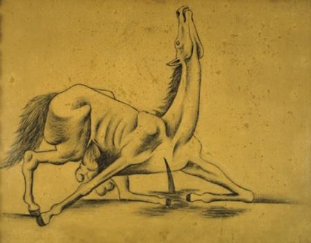 Picasso - caballo destripado (1917)