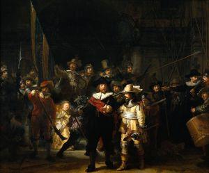 Rembrandt - la ronda de noche (1642)