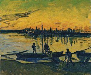 Van Gogh - los descargadores de Arles (1888)