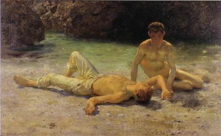 Henry Scott - calor al mediodía (1905)