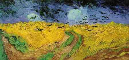 Van Gogh - trigal con cuervos (1890)